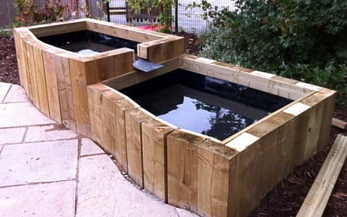 Custom made water features