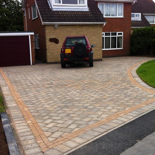 New Driveway light grey