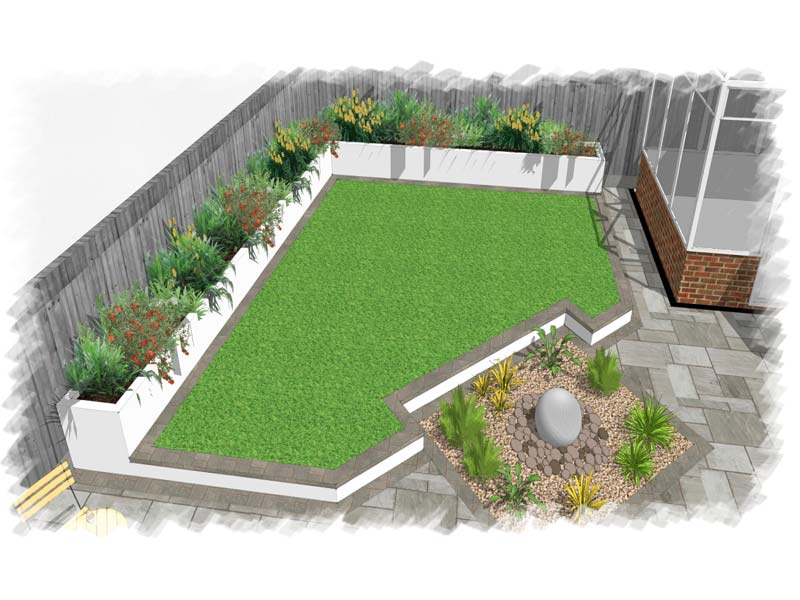 Garden landscape designs ultimate landscapes ltd for Designing a garden from scratch