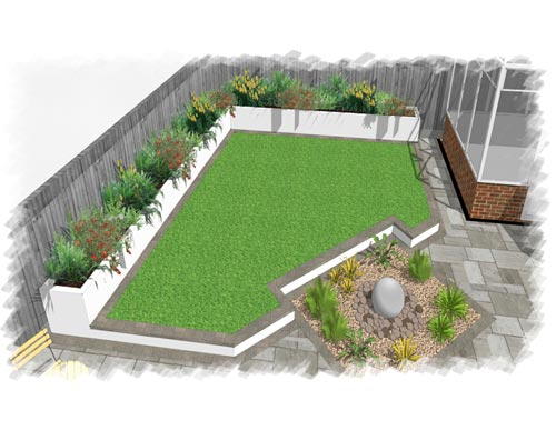 Design of a new garden