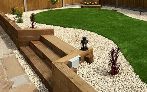 Well planned garden design