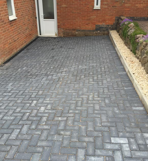 Grey Block Paving