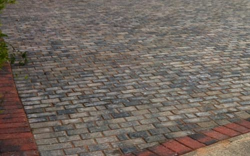 Stretcher Bond Block Paving Pattern