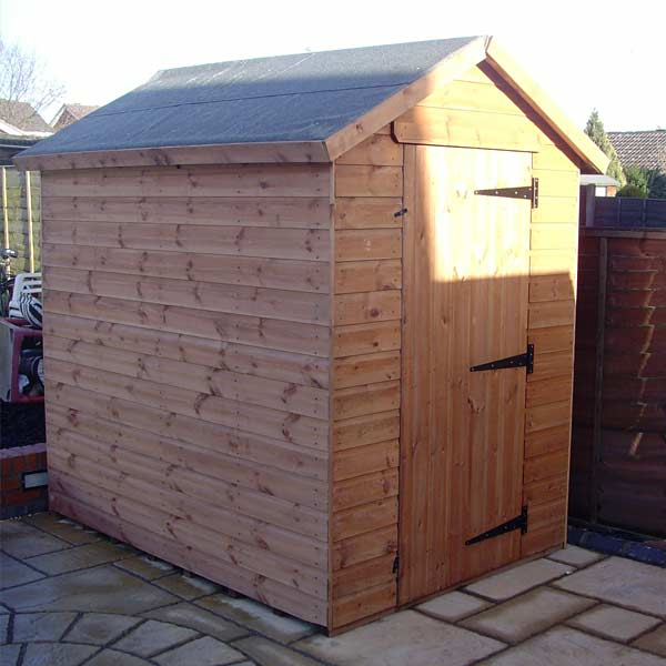 New shed built