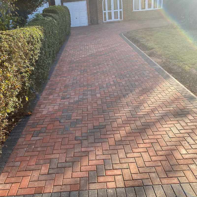 marshall standard brindle block paving